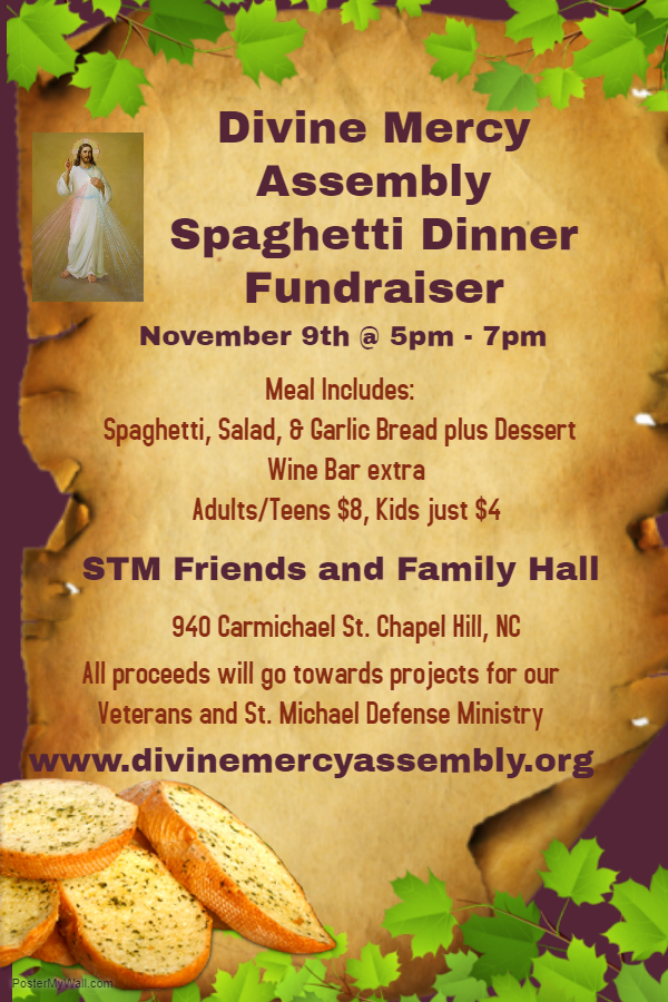Copy of Spaghetti Dinner Fundraiser